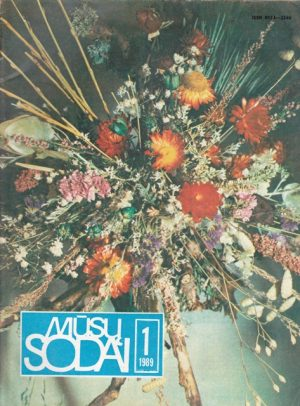 Mūsų sodai, 1989/1