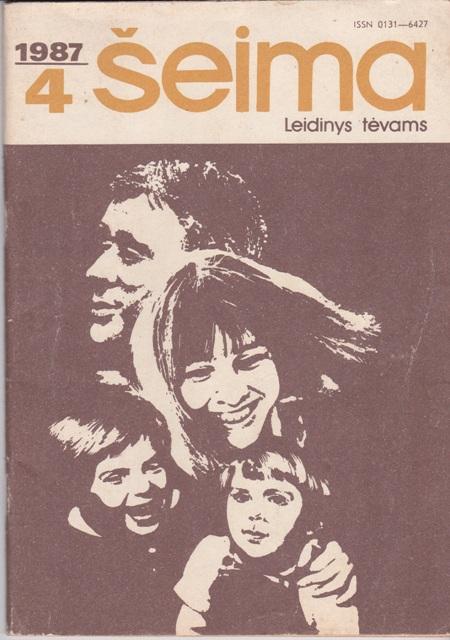 """""""Šeima"""", 1987/4"""