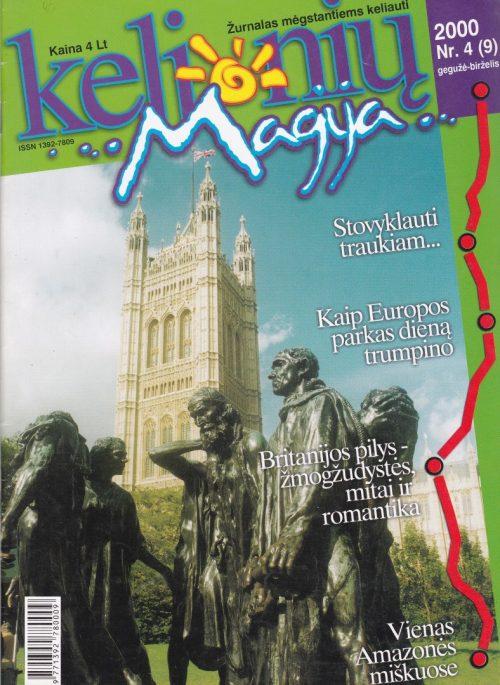 """""""Kelionių magija"""", 2000, Nr. 4/9"""