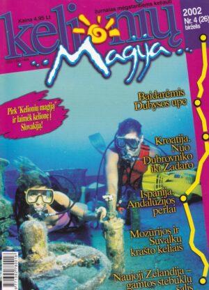 """""""Kelionių magija"""", 2002, Nr.4/26"""