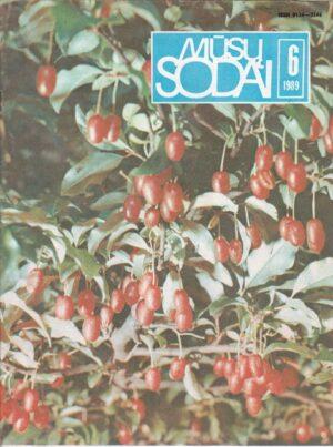 Mūsų sodai, 1989/6