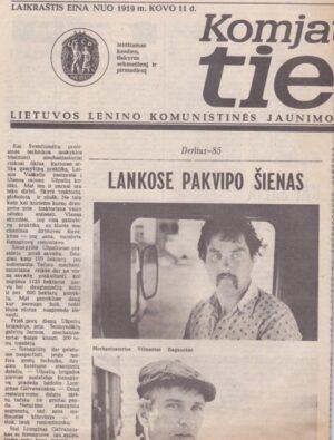 Komjaunimo tiesa, 1985-06-06