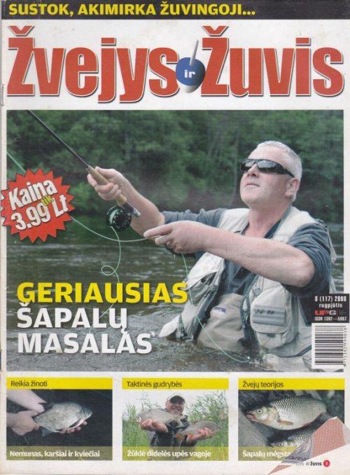 Žvejys ir žuvis 2008/8