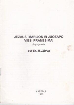 Jėzaus, Marijos ir Juozapo vieši pranešimai