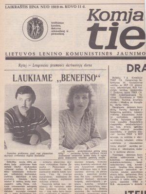 Komjaunimo tiesa, 1985-06-08