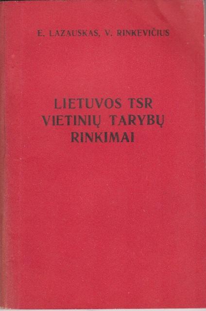 Lietuvos TSR vietinių tarybų rinkimai