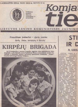 Komjaunimo tiesa, 1985-06-27