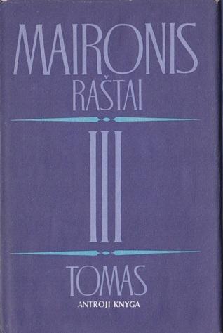 Maironis. Raštai. III tomas. Antroji knyga