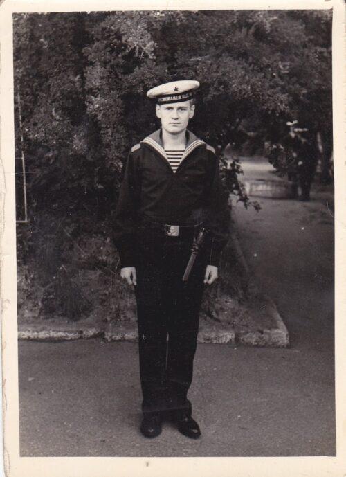 Sena fotografija su jūreiviu atminimui