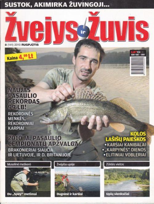 Žvejys ir žuvis 2010/8