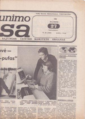 Komjaunimo tiesa, 1988-04-27