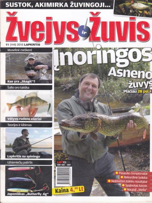 Žvejys ir žuvis, 2010/11