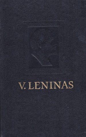 Leninas. V. Pilnas raštų rinkinys. T.38