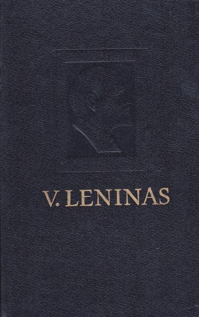 Leninas. V. Pilnas raštų rinkinys. T.44