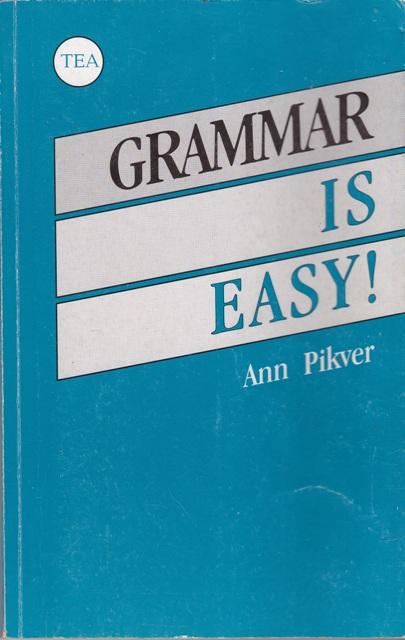 Pikver A. Anglų kalbos gramatika