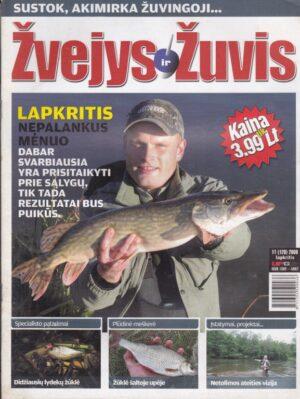 Žvejys ir žuvis 2008/11