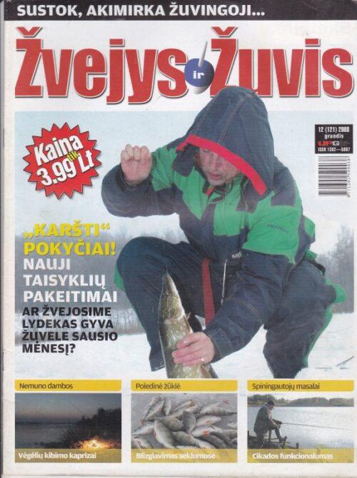 Žvejys ir žuvis 2008/12