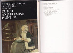 """Atvirukų rinkinys """"Dutch and flemish painting"""""""