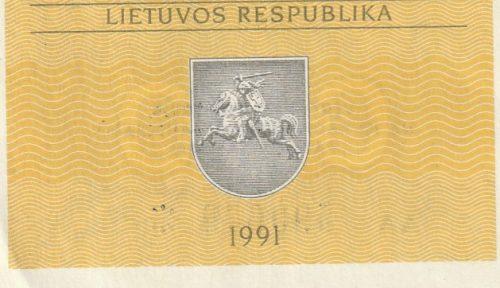0,10 talono, 1991