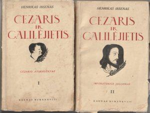 Ibsenas Henrikas. Cezaris ir Galilejietis (I-II dalys)