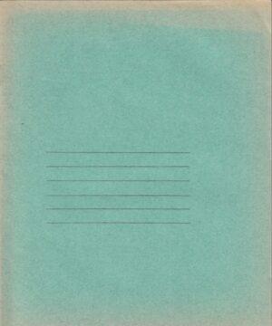 Matematikos sąsiuvinis su spaustuku rašalui