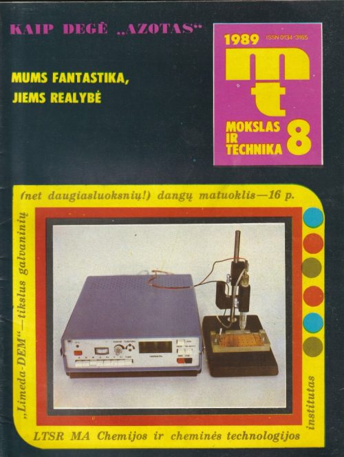 Mokslas ir technika, 1989/8