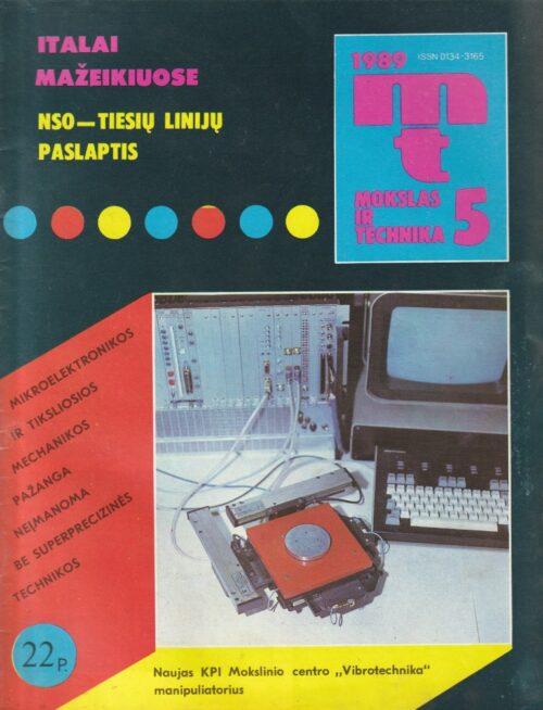 Mokslas ir technika, 1989/5