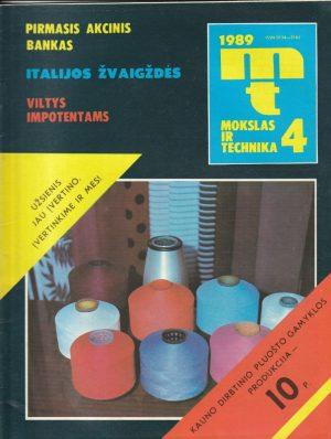 Mokslas ir technika, 1989/4