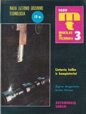 Mokslas ir technika, 1989/3