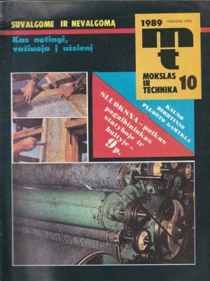 Mokslas ir technika, 1989/10