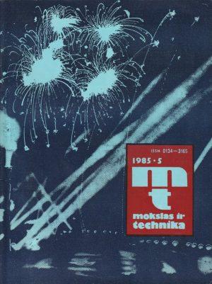 Mokslas ir technika, 1985/5