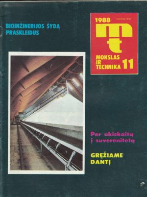 Mokslas ir technika, 1988/11