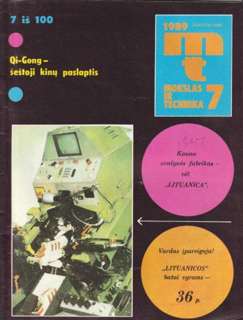 Mokslas ir technika, 1989/7