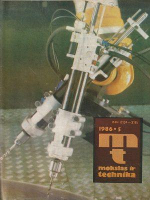 Mokslas ir technika, 1986/5