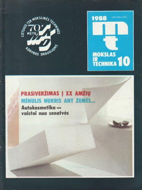 Mokslas ir technika, 1988/10