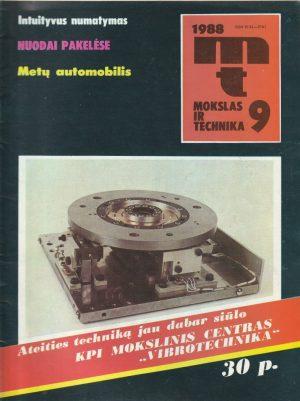 Mokslas ir technika, 1988/9