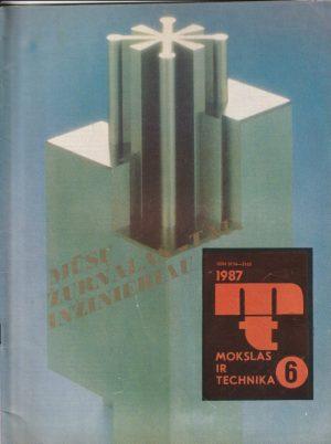 Mokslas ir technika, 1987/6