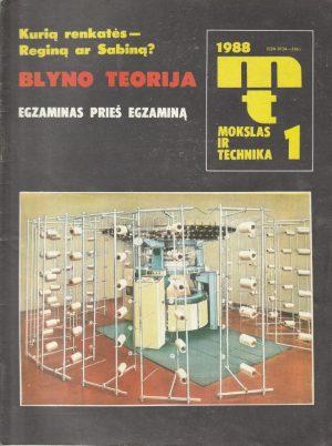 Mokslas ir technika, 1988/1