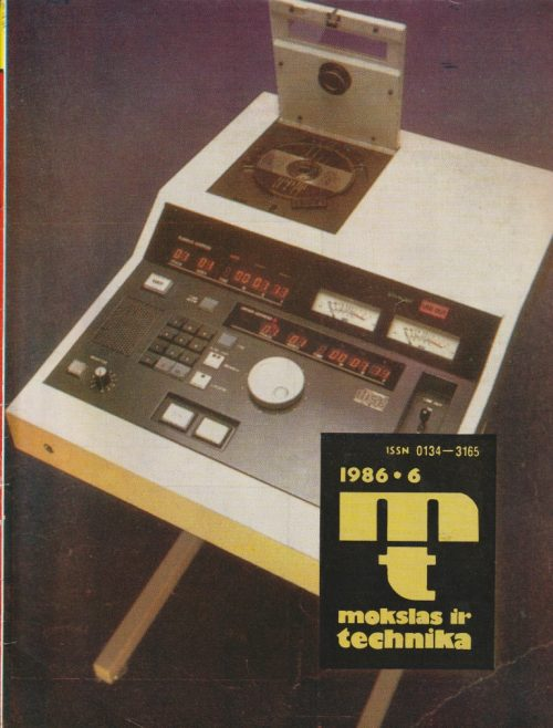 Mokslas ir technika, 1986/6