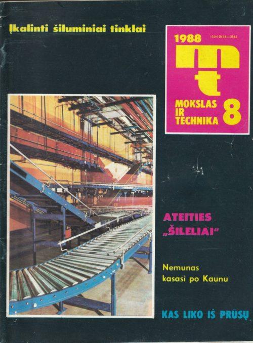 Mokslas ir technika, 1988/8