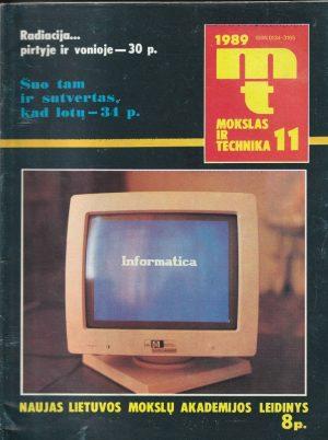 Mokslas ir technika, 1989/11