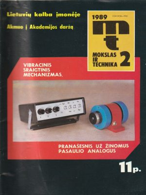 Mokslas ir technika, 1989/2