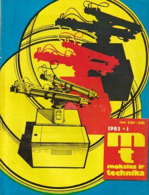 Mokslas ir technika, 1983/1