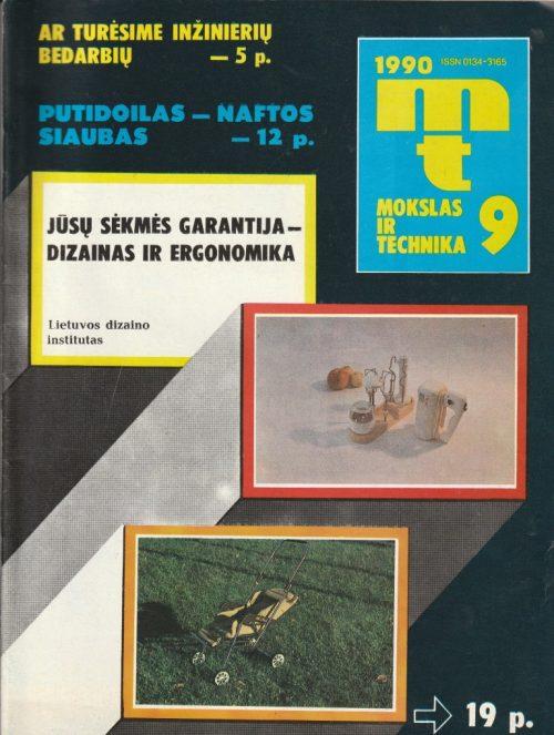 Mokslas ir technika, 1990/9
