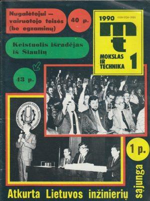 Mokslas ir technika, 1990/1