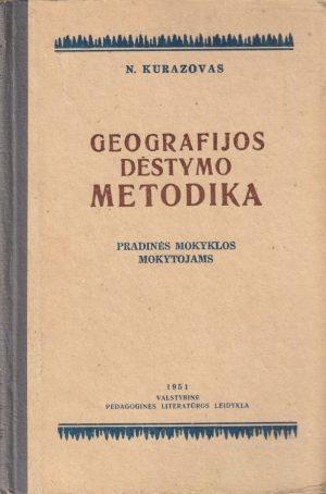 Kurazovas N. Geografijos dėstymo metodika