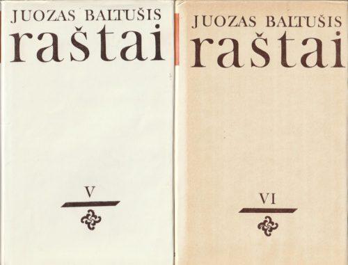 Baltušis Juozas. Raštai (8 tomai)