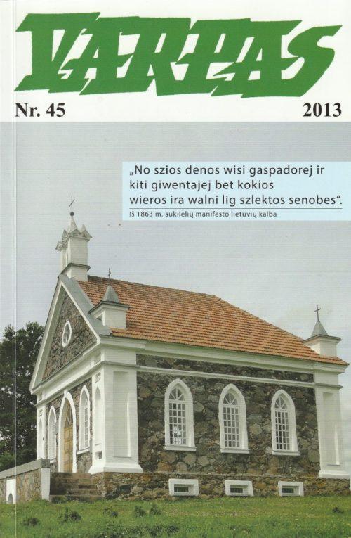Varpas, 2013 m., Nr. 45