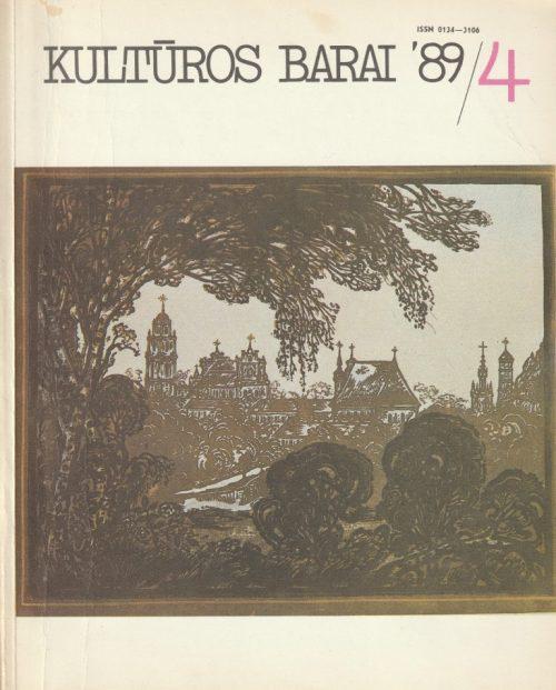 Kultūros barai, 1989/4