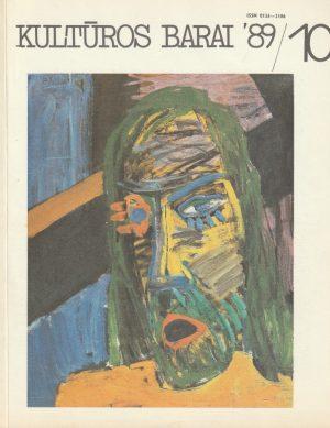 Kultūros barai, 1989/10